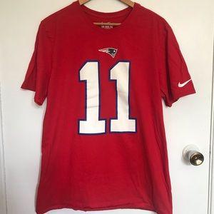Nike #11 Edelman Tee Shirt size L
